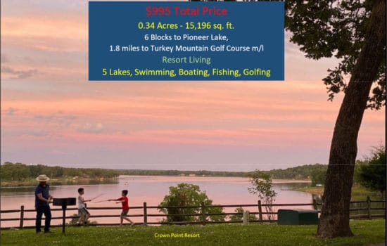 6 Blocks to Pioneer Lake, 1.8 miles to Golf Course!