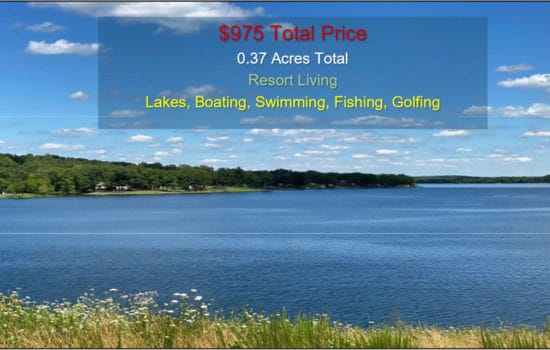 Lakes, Golf Courses Resort Property!