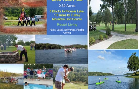 4 Blocks to Pioneer Lake, 1.8 miles to Golf Course!