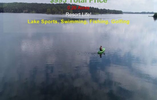 1.4 miles to Crown Lake, Golf Course Resort Property!